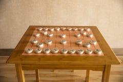 Chinees schaak stock afbeelding