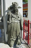Chinees standbeeld bij de tempel van watpho Royalty-vrije Stock Foto's