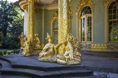 Chinees theehuis van 18de eeuw in Sanssouci-park Stock Afbeelding