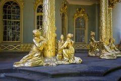 Chinees theehuis van 18de eeuw in Sanssouci-park Stock Fotografie