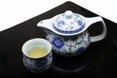 Chinees theestel Royalty-vrije Stock Afbeeldingen