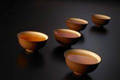 Chinees theestel stock afbeelding