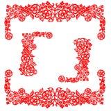 Chinees traditioneel bloemenornament Royalty-vrije Stock Foto
