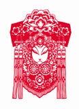 Chinees Traditioneel papier-Besnoeiing art. Royalty-vrije Stock Fotografie