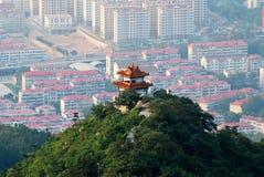 Chinees traditioneel paviljoen Stock Foto's