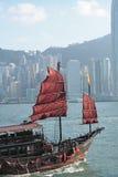 Chinees varend schip Stock Afbeelding