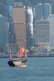 Chinees varend schip Stock Fotografie
