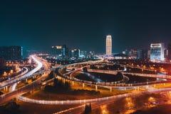 Chinees vervoersnetwerk stock afbeeldingen