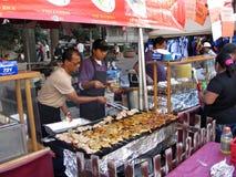 Chinees Voedsel bij het Festival Stock Foto's