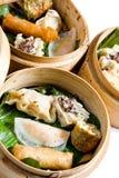 Chinees voedsel, Dim Sum Stock Fotografie