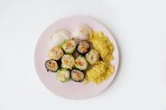 Chinees voedsel, Dim Sum royalty-vrije stock foto's