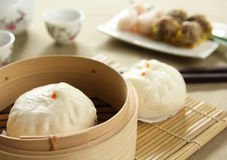 Chinees voedsel, [Dimsum] Stock Foto
