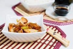 Chinees voedsel met rijst stock fotografie