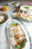 Chinees voedsel, voorgerechten. Royalty-vrije Stock Foto's