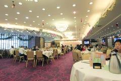 Chinees voedselrestaurant in Hongkong Stock Afbeelding