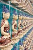 Chineese buddha wall art. Beijin, China. Buddha symbol on the wall Stock Image