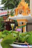 Chineese buddhist temple of Golden Buddha, Wat Traimit Stock Photography