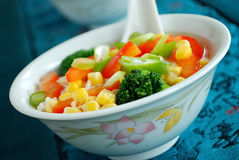 Chineese sweet sour soup stock image