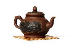 Chineese teapot Arkivfoton