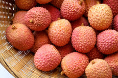 chinensis lychee litchi lichee Стоковое Фото