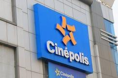 Chinepolos movie cinema India stock images