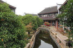 Chines Ancient garden Royalty Free Stock Images
