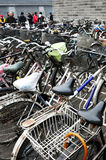 Chines bicycles Stock Photography
