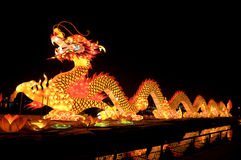 Chines dragon lantern. In china Royalty Free Stock Photography