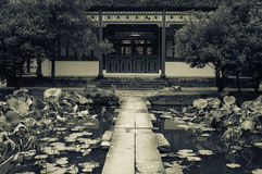 Chines historic pavilion  building Royalty Free Stock Photos