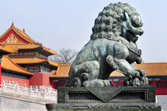 Chines Lion Stock Image
