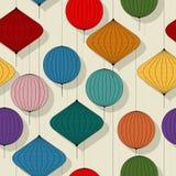 Chines paper lanterns Royalty Free Stock Image