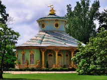 Chines Teahouse, Sanssouci, Potsdam. The Chinese Teahouse in the gardens of the palace of Sanssouci in Potsdam, near Berlin, Germany Royalty Free Stock Photography