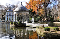 Chinescos pond, Princes garden, Aranjuez (Madrid) Stock Photography