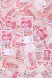 Chinese 100 yuan Stock Photography