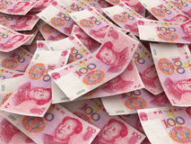Chinese 100 Yuan bill Royalty Free Stock Image