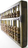 Chinese abacus. Purchased during the culture revolution Royalty Free Stock Image