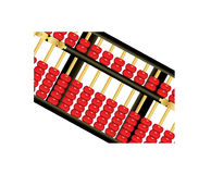 Chinese abacus Stock Photo