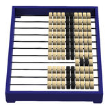 Chinese abacus isolated on white background. Chinese abacus, isolated on white background. 3D render Stock Photos