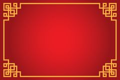 Chinese abstract background. Vector, illustration stock illustration