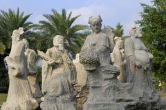 Chinese acht Unsterbliche Stockbilder
