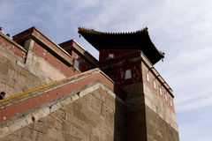 Chinese acient building. A famous Chinese ancient building Royalty Free Stock Photos