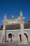 Chinese acient building. A    famous Chinese ancient building Royalty Free Stock Photography