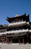 Chinese acient building. A    famous Chinese ancient building Stock Photography