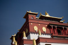 Chinese acient building. A    famous Chinese ancient building Stock Image