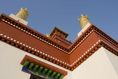 Chinese acient building. A    famous Chinese ancient building Royalty Free Stock Image
