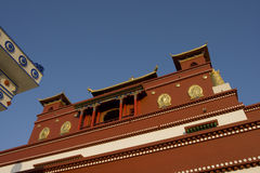 Chinese acient building. A    famous Chinese ancient building Royalty Free Stock Photo
