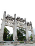 Chinese Acient Temple Entrance Royalty Free Stock Images