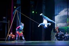 Chinese acrobatics Royalty Free Stock Photos