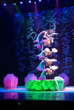 Chinese Acrobats in Beijing Royalty Free Stock Images