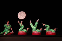 Chinese Acrobats Royalty Free Stock Photos